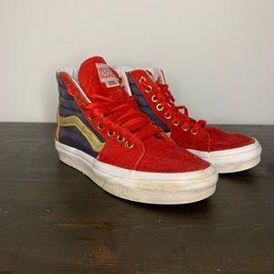 Vans Captain Marvel high top sneakers